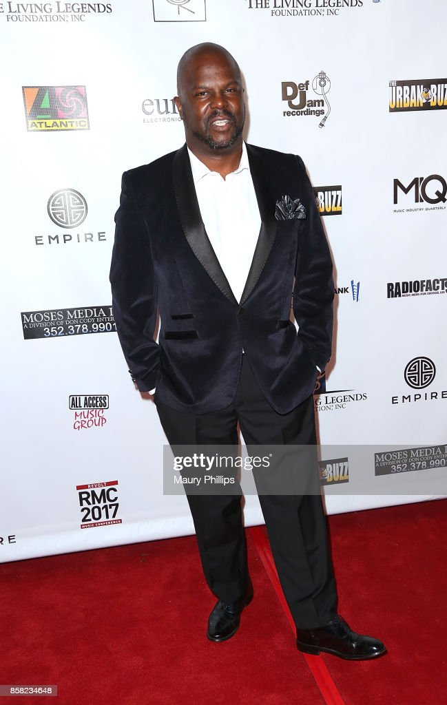 David Mitchell arrives at The Living Legends Foundation's 21st annual awards gala - at Taglyan Cultural Complex on October 5, 2017 in Hollywood, California.