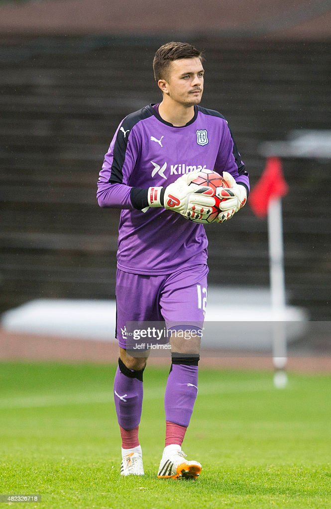 David Mitchell For Dundee FC at the Pre Season Friendly between Dundee and Everton at Dens Park on July 28th 2015 in Dundee Scotland
