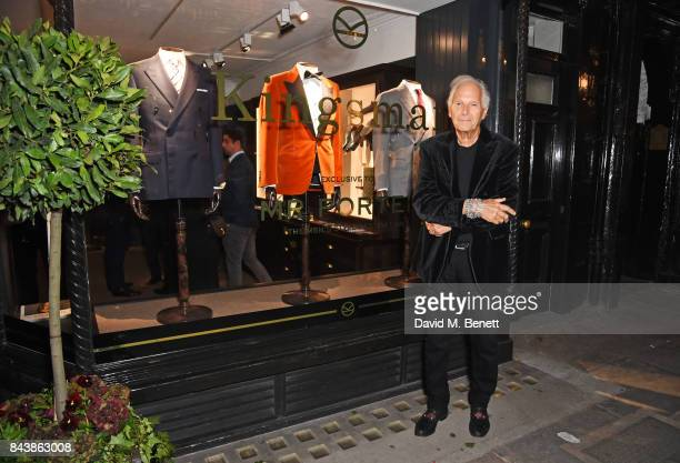 David Montgomery attends the launch of the 'Kingsman' shop on St James's Street in partnership with MR PORTER MARV Twentieth Century Fox in...