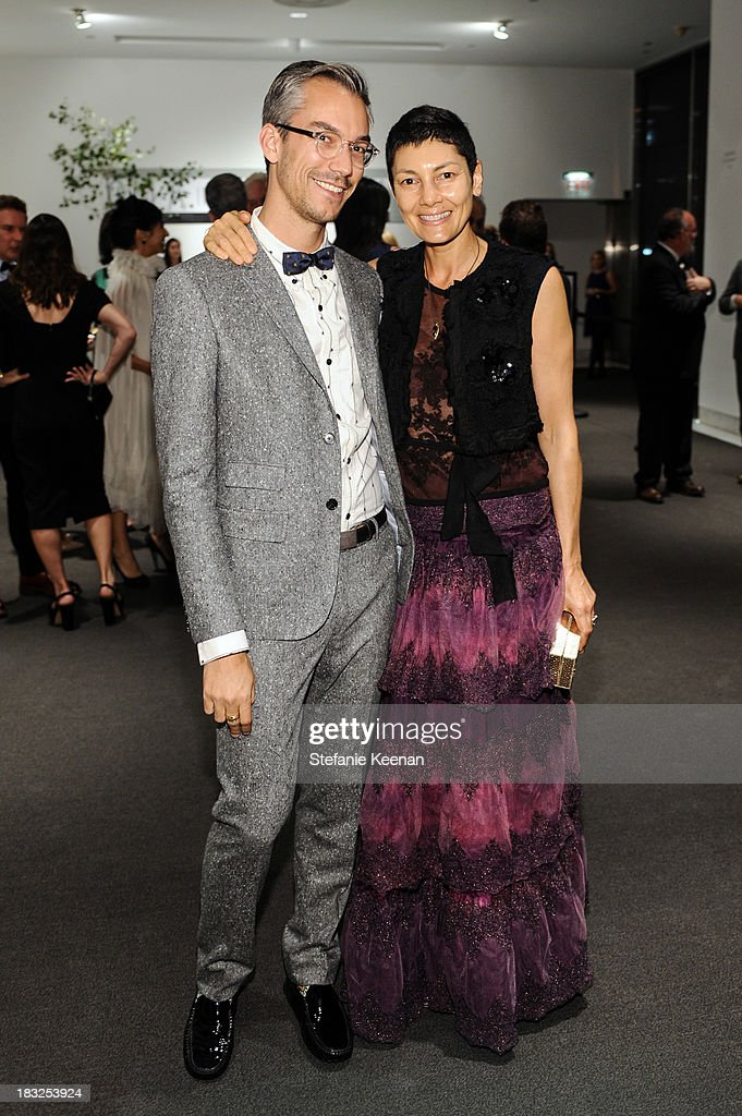 David Morehouse and Alisa Ratner attend Hammer Museum 11th Annual Gala In The Garden With Generous Support From Bottega Veneta, October 5, 2013, Los Angeles, CA at Hammer Museum on October 5, 2013 in Westwood, California.