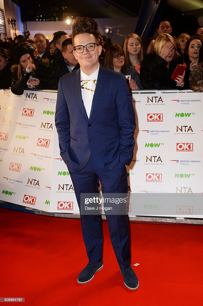 David Morgan attends the 21st National Television Awards at The O2 Arena on January 20, 2016 in London, England.