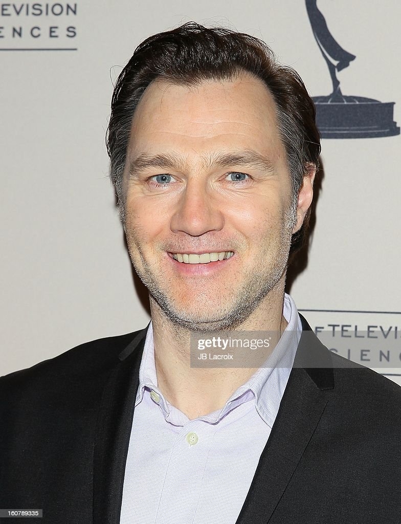 <a gi-track='captionPersonalityLinkClicked' href=/galleries/search?phrase=David+Morrissey&family=editorial&specificpeople=220896 ng-click='$event.stopPropagation()'>David Morrissey</a> attends an evening with 'The Walking Dead' presented by The Academy Of Television Arts & Sciences at Leonard H. Goldenson Theatre on February 5, 2013 in North Hollywood, California.