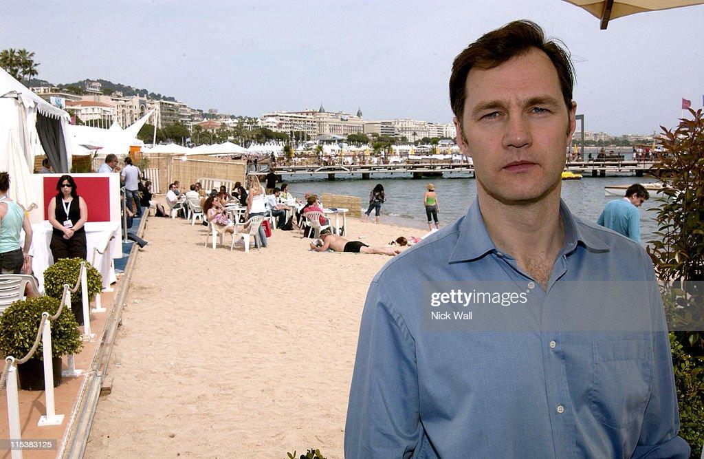 2005 Cannes Film Festival - David Morissey Sightings