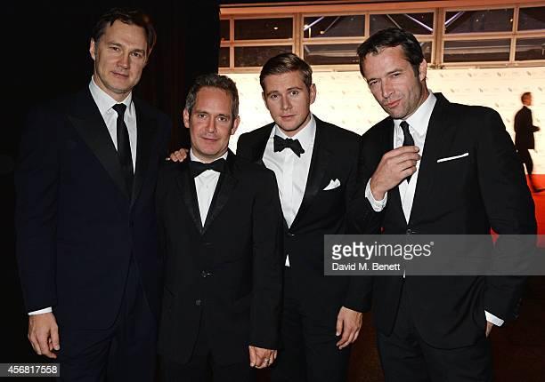David Morrissey Tom Hollander Allen Leech and James Purefoy attend the BFI London Film Festival IWC Gala Dinner in honour of the BFI at Battersea...