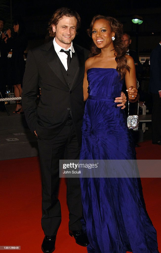 David Moscow and Kerry Washington during 2006 Cannes Film Festival 'Summer Palace' Premiere at Palais Du Festival in Cannes France