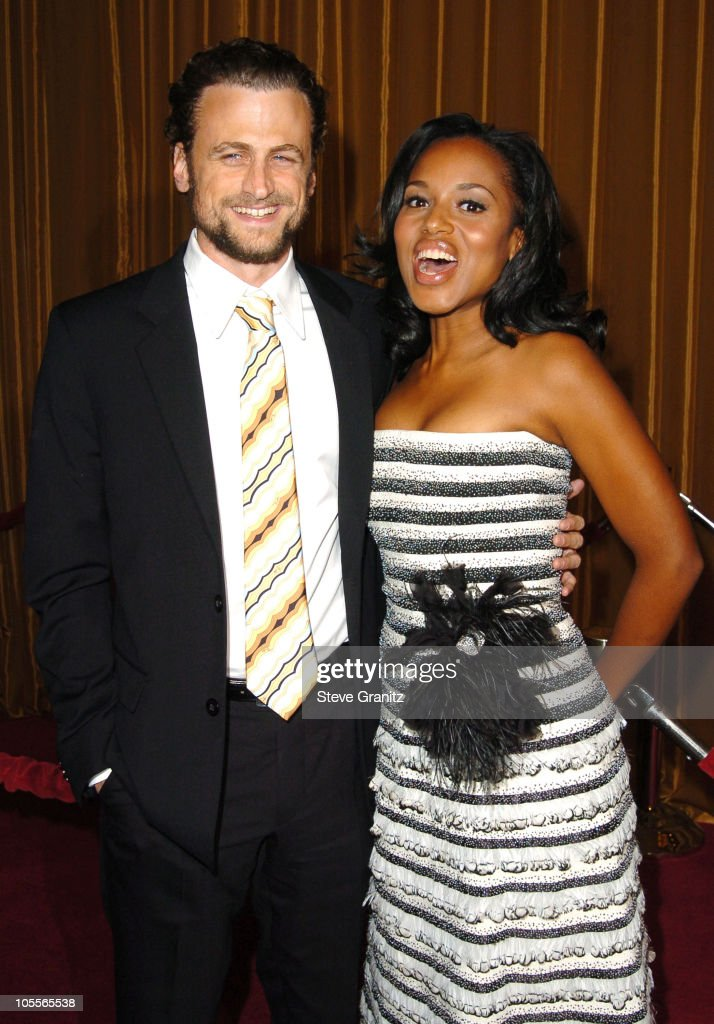 David Moscow and Kerry Washington during 57th Annual Directors Guild of America Awards Arrivals at Beverly Hilton Hotel in Beverly Hills California...
