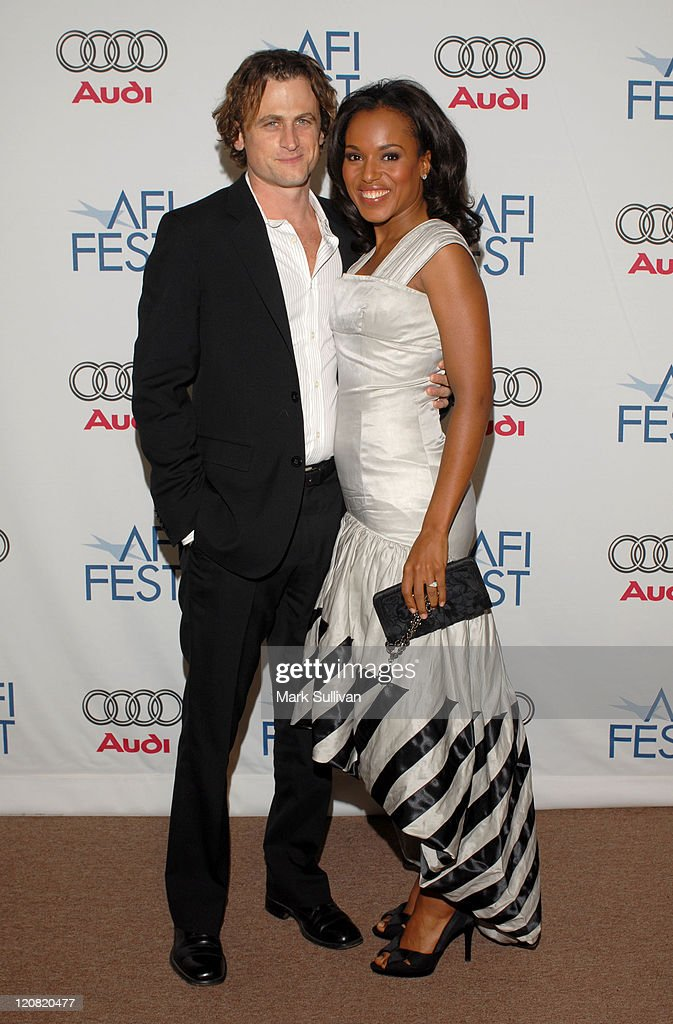 David Moscow and Kerry Washington during AFI FEST 2006 World Premiere of 'The Dead Girl' Arrivals at AFI FEST Village/The Loft in Hollywood...