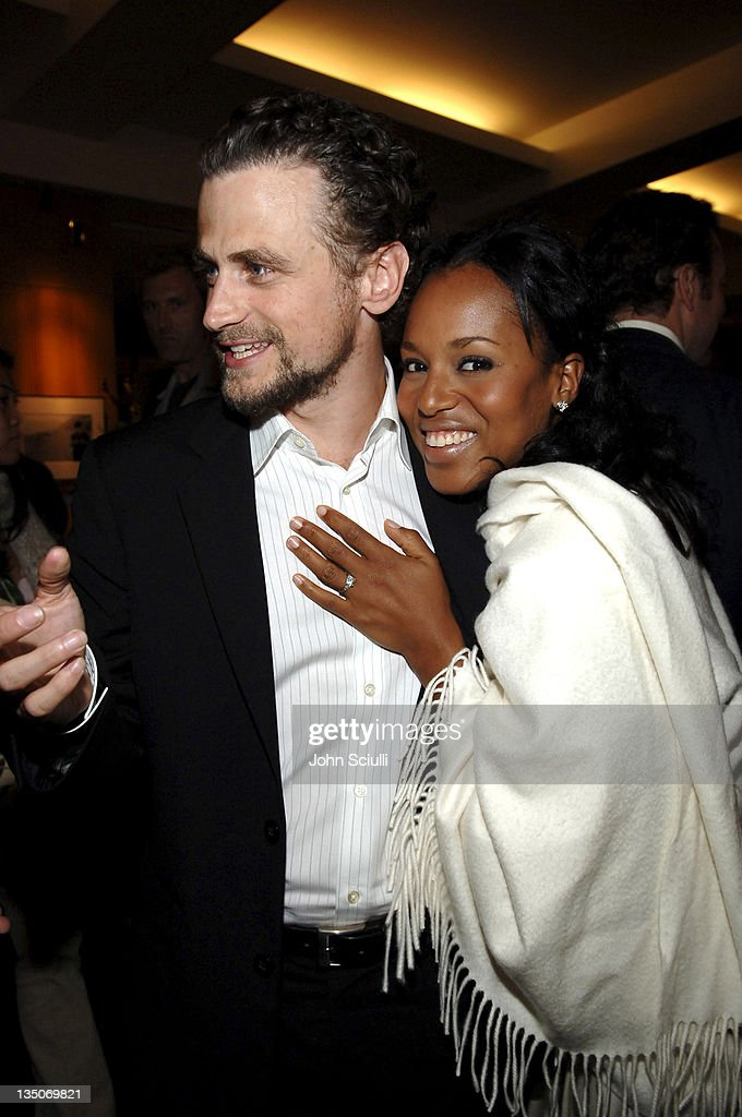 David Moscow and Kerry Washington during 'Crash' Los Angeles Premiere After Party in Los Angeles California United States