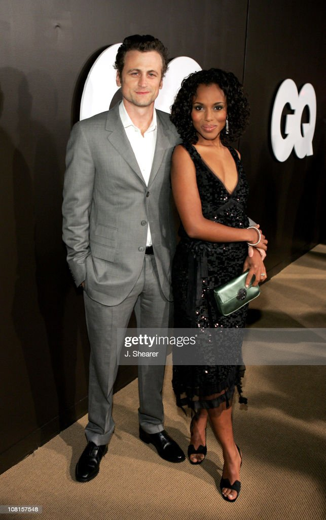 David Moscow and Kerry Washington during GQ Magazine Celebrates its 2004 Men of the Year Red Carpet at Lucques Restaurant and Ago Restaurant in Los...