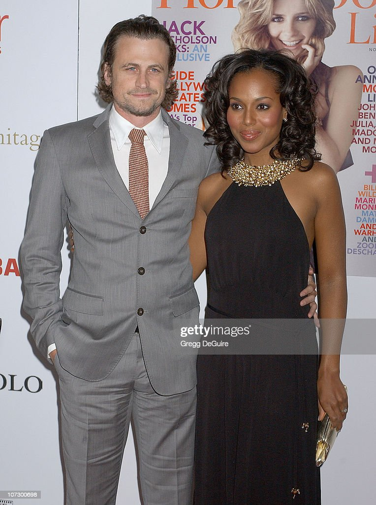 David Moscow and Kerry Washington during Hollywood Life Magazine's 5th Annual Breakthrough of the Year Awards Inside Arrivals at Music Box at The...