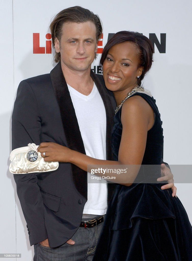 David Moscow and Kerry Washington during 'Little Man' Los Angeles Premiere Arrivals at Mann National Theatre in Westwood California United States