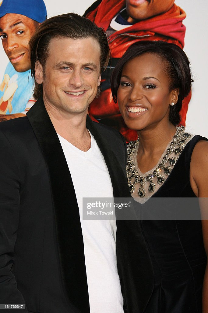 David Moscow and Kerry Washington during 'Little Man' Los Angeles Premiere Arrivals at Mann National Theater in Westwood California United States