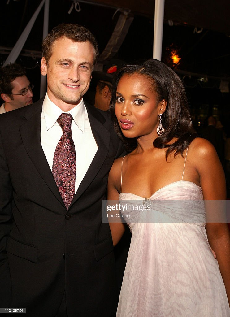 David Moscow and Kerry Washington during 'Ray' Los Angeles Premiere Red Carpet at ArcLight Cinemas in Hollywood California United States