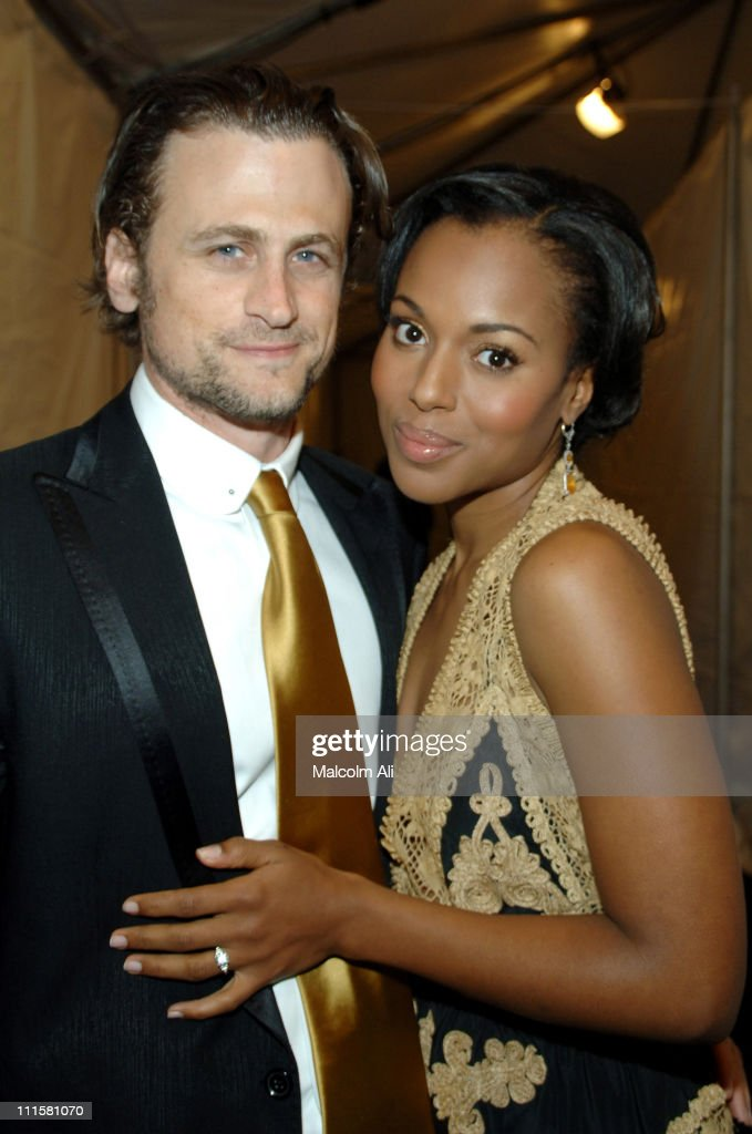 David Moscow and Kerry Washington during The 37th Annual NAACP Image Awards Backstage and Audience at Shrine Auditorium in Los Angeles California...