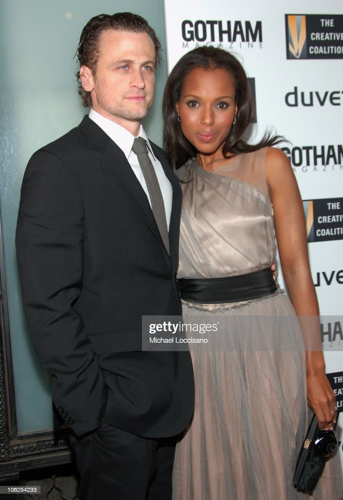 David Moscow and Kerry Washington during The Creative Coalition Gala Hosted by Gotham Magazine December 18 2006 in New York City New York United...