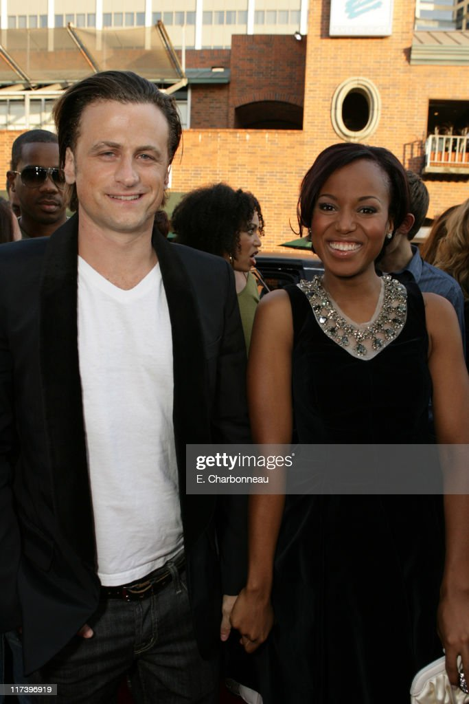 David Moscow and Kerry Washington during The Premiere of Columbia Pictures and Revolution Studios 'Little Man' at Mann National Theatre in Westwood...