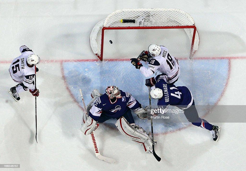 USA v France - 2013 IIHF Ice Hockey World Championship