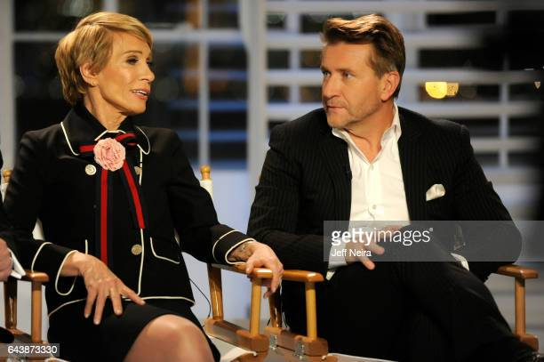 20/20 David Muir and Elizabeth Vargas interview the cast of ABC's 'Shark Tank' airing on a special edition of '20/20' Friday February 24 2017 on the...