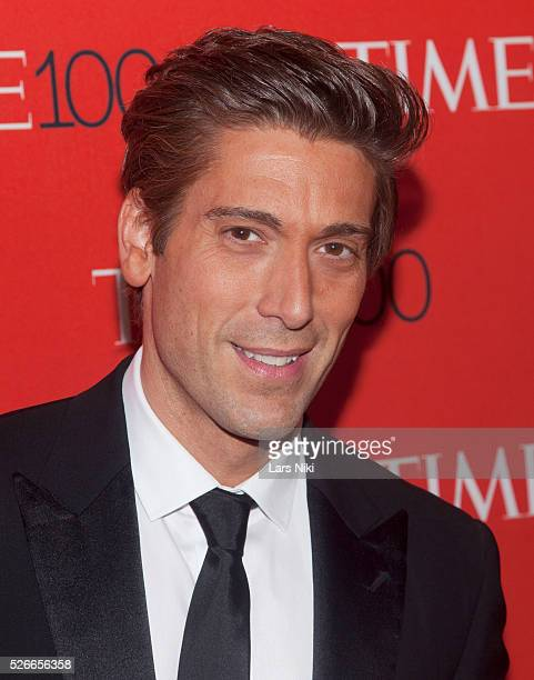 David Muir attends the 'TIME 100 Gala TIME's 100 Most Influential People In The World' at Jazz at Lincoln Centerin New York City �� LAN