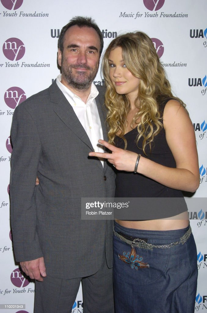 David Munns and Joss Stone during UJA Luncheon Honoring David Munns and Rob Glaser at The Pierre Hotel in New York City, New York, United States.