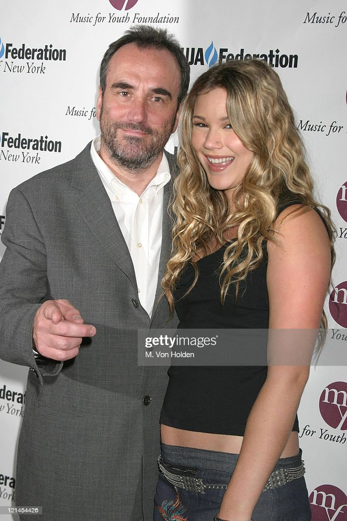 David Munns, Joss Stone during UJA Federation of NY/Music for Youth Foundation fundraiser at Pierre Ballroom in New York, New York, United States.