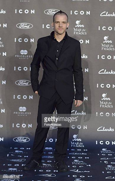 David Munoz attends the 2014 Icon Magazine Awards ceremony at the Italian Consulate on October 1 2014 in Madrid Spain