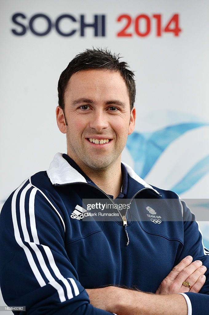 David Murdoch (Skip) during a press conference to announce he has been selected for the Team GB Curling team for the Sochi 2014 Winter Olympic Games at The Peak, Stirling Sports Village on October 02, 2013 in Stirling, Scotland.