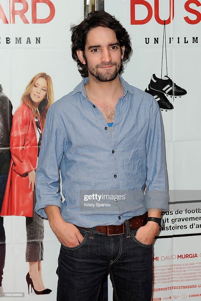 David Murgia attends the 'Je Suis Supporter Du Standard' Premiere at the UGC Cine Cite des Halles on May 28, 2013 in Paris, France.