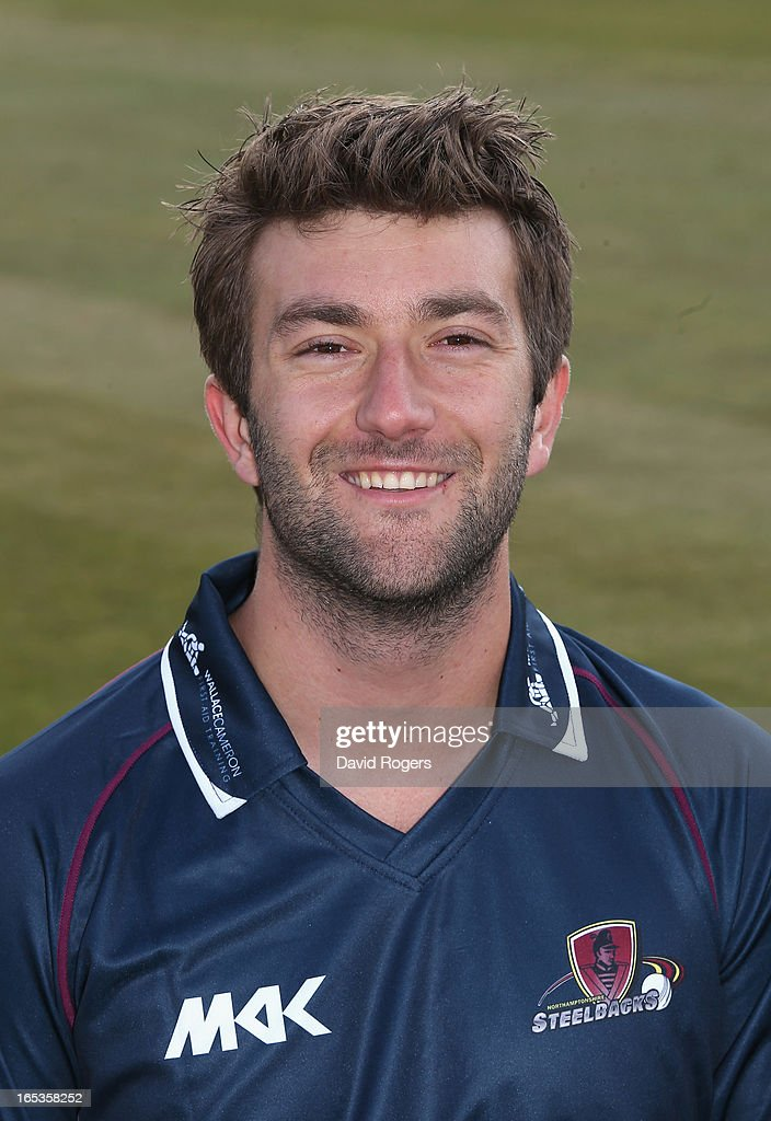 <a gi-track='captionPersonalityLinkClicked' href=/galleries/search?phrase=David+Murphy+-+Cricket+Player&family=editorial&specificpeople=14327954 ng-click='$event.stopPropagation()'>David Murphy</a> of Northamptonshire CCC poses for a portrait wearing the T20 kit at the County Ground on April 3, 2013 in Northampton, England.
