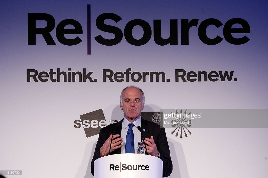 David Nabarro, UN Secretary-General's Special Representative on Food Security and Nutriton, speaks at the ReSource 2012 conference on July 12, 2012 in Oxford, England. ReSource 2012 is a 2 day ground-breaking forum on resource scarcity and volatility, dedicated to engaging the financial and business community on the issues of food, water, energy supply and global growth.