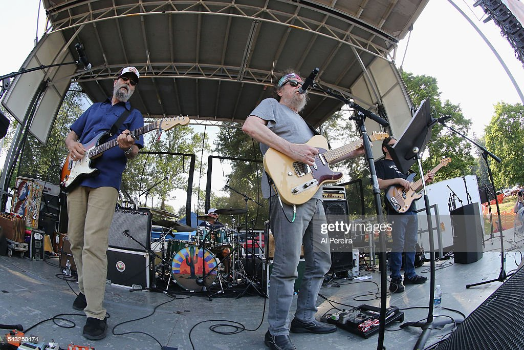 David Nelson and the New Riders of the Purple Sage perform at Day Two of the Rockland-Bergen Music Festival at German Masonic Park on June 25, 2016 in Tappan, New York.