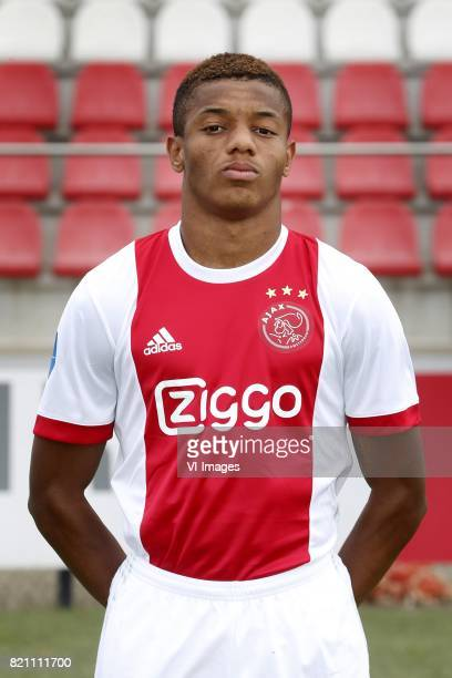 David Neres during the team presentation of Ajax on July 22 2017 at the at the Toekomst in Amsterdam The Netherlands