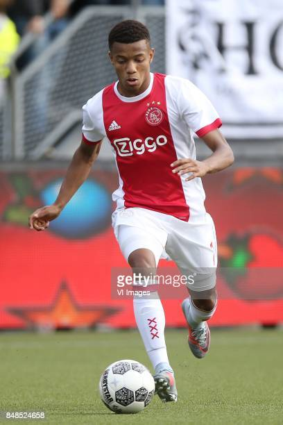 David Neres of Ajax during the Dutch Eredivisie match between ADO Den Haag and Ajax Amsterdam at Car Jeans stadium on September 17 2017 in The Hague...