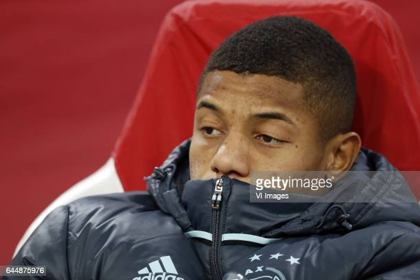 David Neres of Ajaxduring the UEFA Europa League round of 16 match between Ajax Amsterdam and Legia Warsaw at the Amsterdam Arena on February 23 2017...