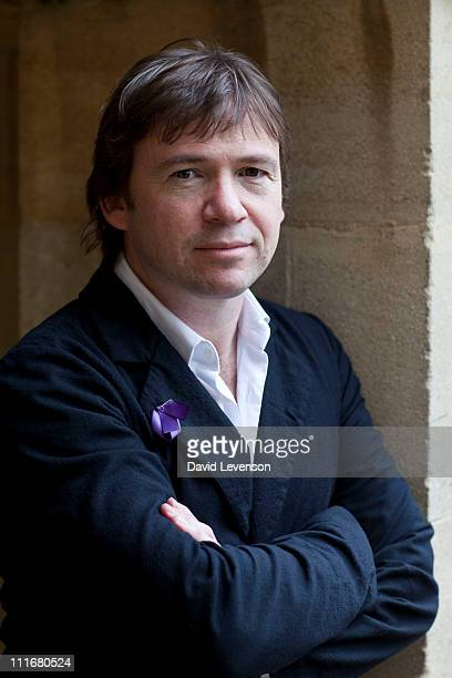 David Nicholls author of 'One Day' poses for a portrait at the Oxford Literary Festival on April 5 2011 in Oxford England
