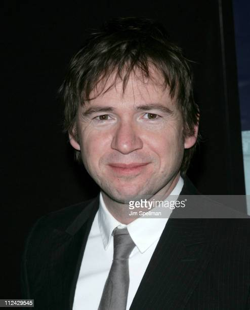 David Nicholls writer during 'Starter For Ten' New York City Premiere Arrivals at Tribeca Grand Screening Room in New York City New York United States
