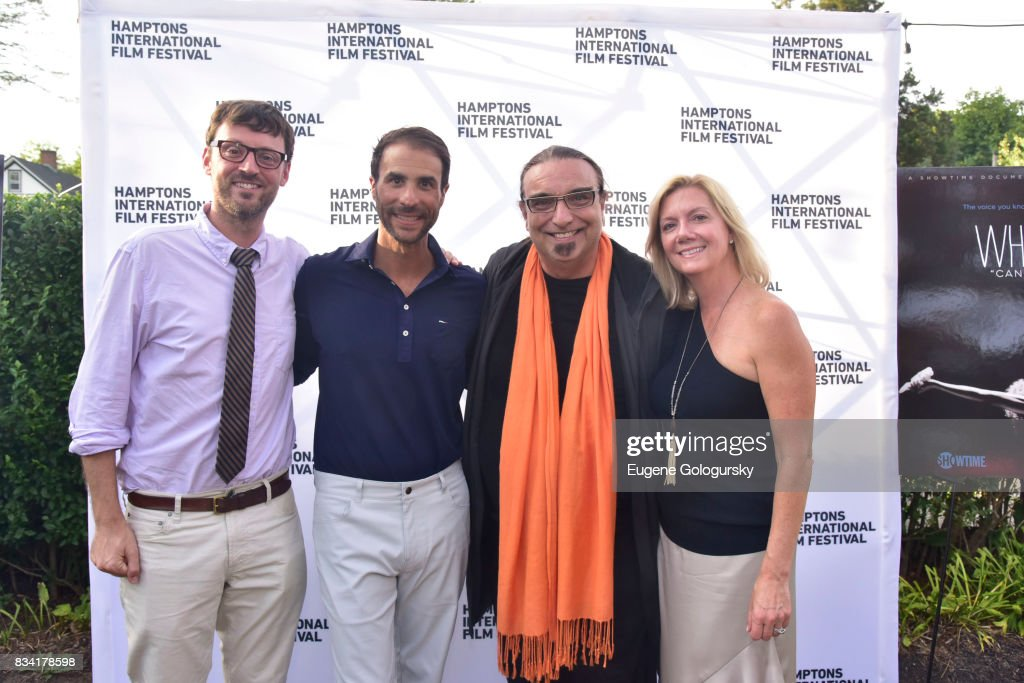David Nugent, Ben Silverman, Rudi Dolezal and Anne Chaisson attend the The Hamptons International Film Festival SummerDocs Series Screening of WHITNEY. 'CAN I BE ME' at UA Southampton 4 Theatres on August 17, 2017 in Southampton, New York.