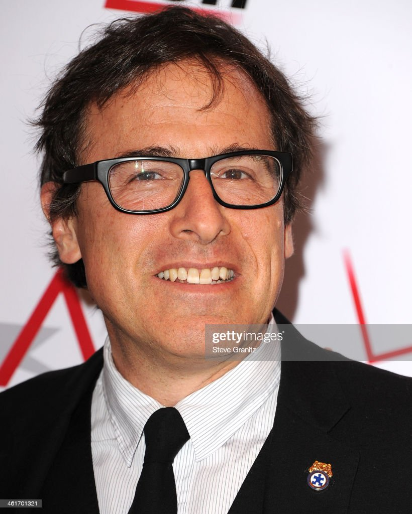 <a gi-track='captionPersonalityLinkClicked' href=/galleries/search?phrase=David+O.+Russell&family=editorial&specificpeople=215306 ng-click='$event.stopPropagation()'>David O. Russell</a> arrives at the American Film Institute Awards Luncheon at Four Seasons Hotel Los Angeles at Beverly Hills on January 10, 2014 in Beverly Hills, California.