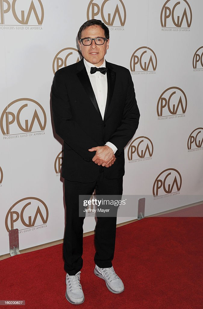 David O. Russell at The Beverly Hilton Hotel on January 26, 2013 in Beverly Hills, California.