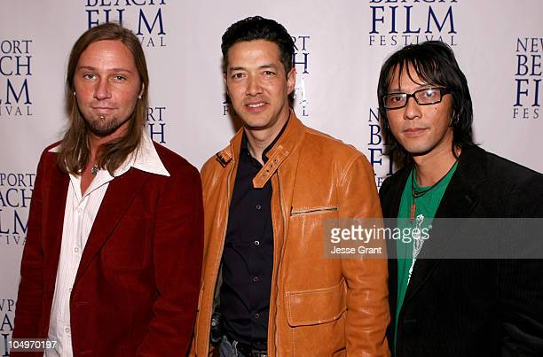 David Ogden director Russell Wong and Timothy Linh Bui producer