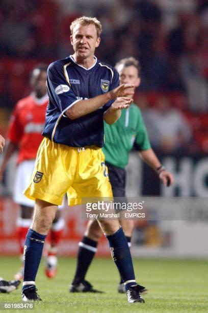 David Oldfield Oxford United