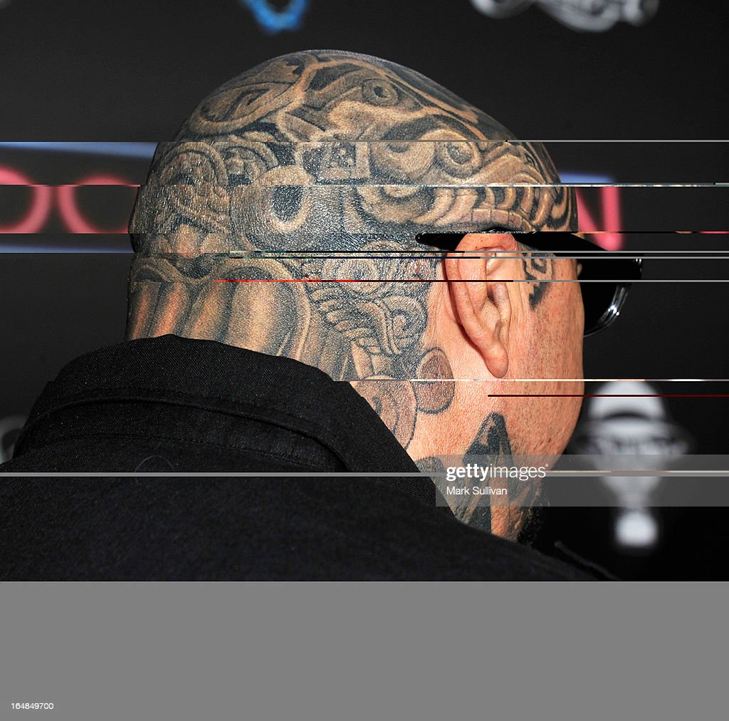 David Oropeza attends the premiere of 'Tattoo Nation' at ArcLight Cinemas on March 28, 2013 in Hollywood, California.