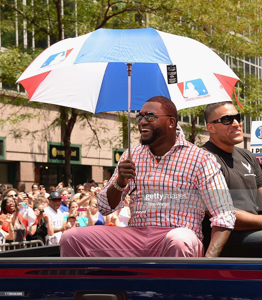 David Ortiz attends the MLB All-Star Game Red Carpet Show Presented by Chevrolet on July 16, 2013 in New York City.
