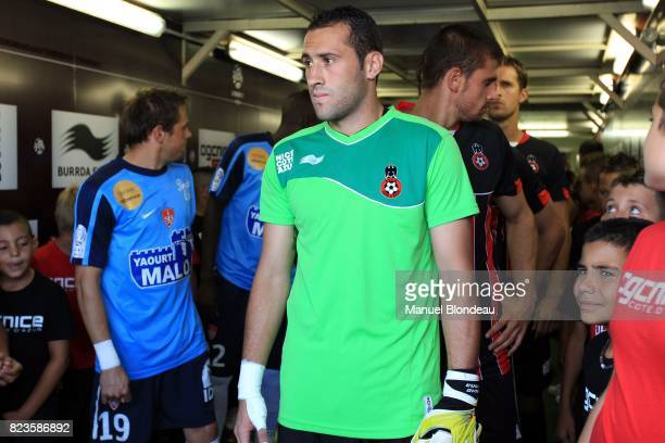 David OSPINA Nice / Brest 4eme journee de Ligue 1