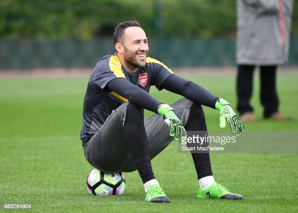 David Ospina of Arsenal during a training session at London Colney on May 15 2017 in St Albans England
