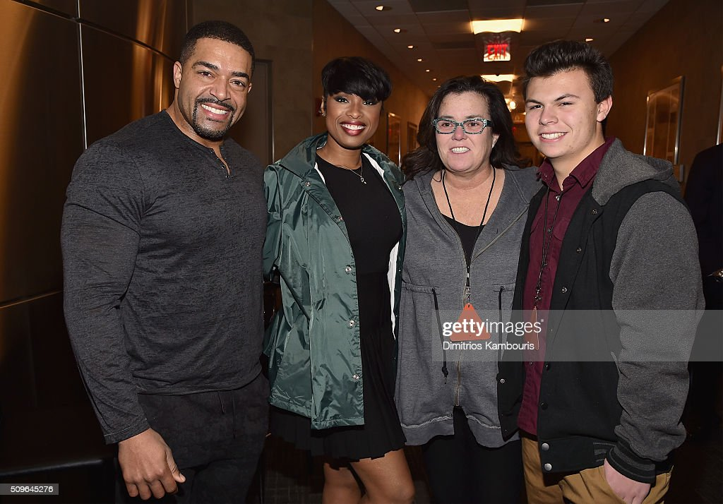 David Otunga, <a gi-track='captionPersonalityLinkClicked' href=/galleries/search?phrase=Jennifer+Hudson&family=editorial&specificpeople=234833 ng-click='$event.stopPropagation()'>Jennifer Hudson</a>, <a gi-track='captionPersonalityLinkClicked' href=/galleries/search?phrase=Rosie+O%27Donnell&family=editorial&specificpeople=201730 ng-click='$event.stopPropagation()'>Rosie O'Donnell</a> and Blake O'Donnell attend Kanye West Yeezy Season 3 on February 11, 2016 in New York City.