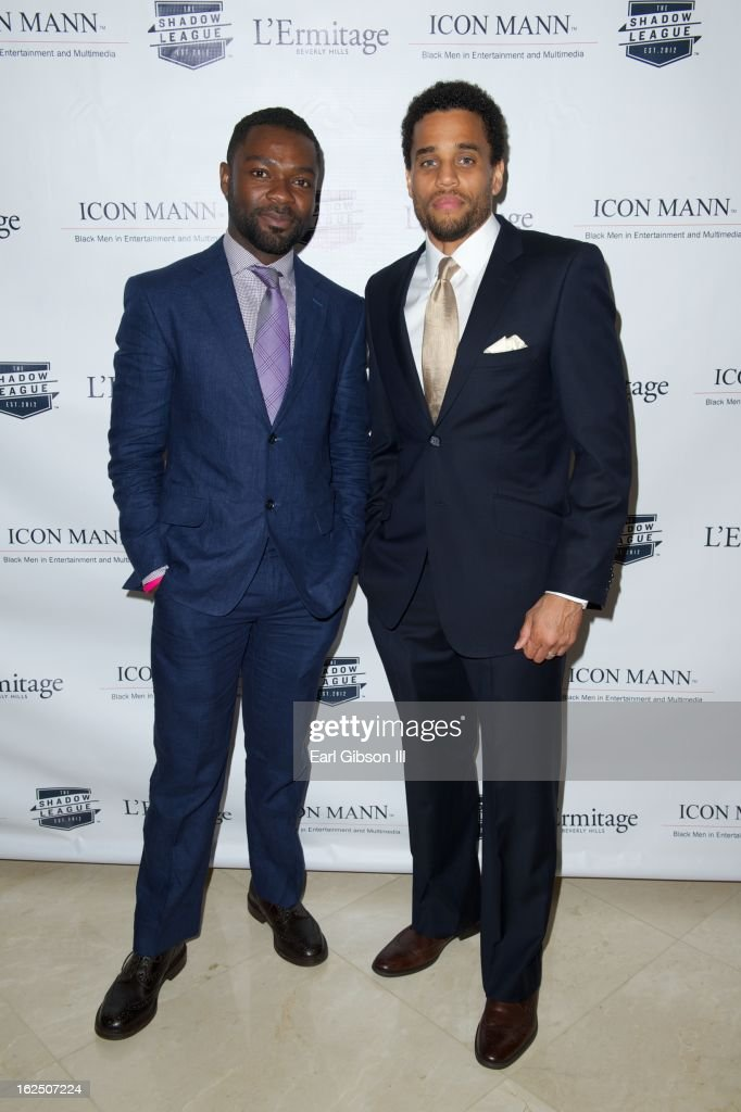 <a gi-track='captionPersonalityLinkClicked' href=/galleries/search?phrase=David+Oyelowo&family=editorial&specificpeople=633075 ng-click='$event.stopPropagation()'>David Oyelowo</a> and <a gi-track='captionPersonalityLinkClicked' href=/galleries/search?phrase=Michael+Ealy&family=editorial&specificpeople=227370 ng-click='$event.stopPropagation()'>Michael Ealy</a> attend the ICON MANN Pre-Oscar Power 30 Dinner at L'Ermitage Beverly Hills Hotel on February 23, 2013 in Beverly Hills, California.