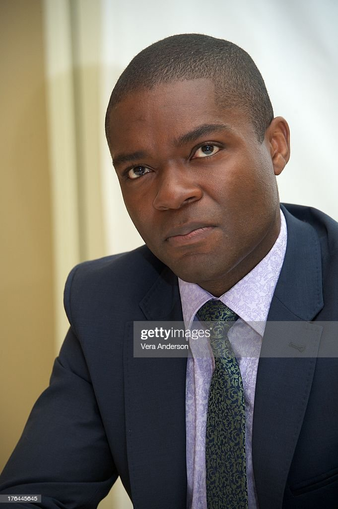 David Oyelowo at the 'Lee Daniels' The Butler' Press Conference at the Four Seasons Hotel on August 12, 2013 in Beverly Hills, California.