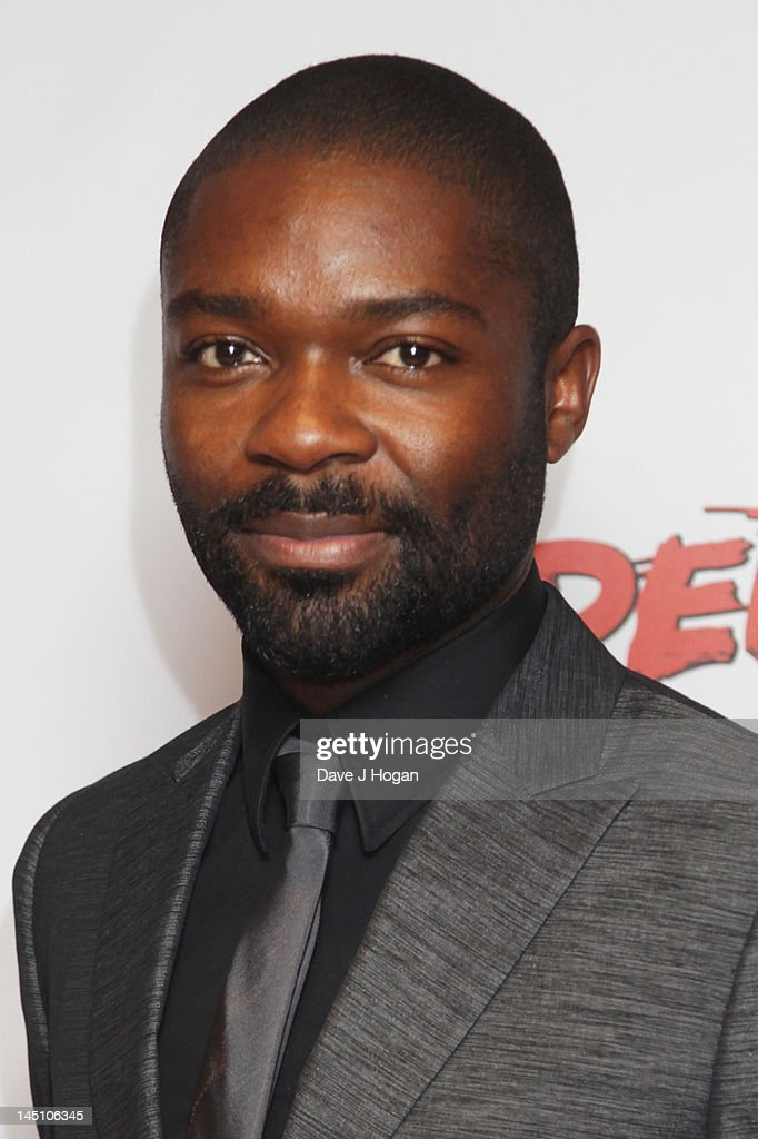 David Oyelowo attends a gala screening of Red Tails at The Mayfair Hotel on May 23 2012 in London England