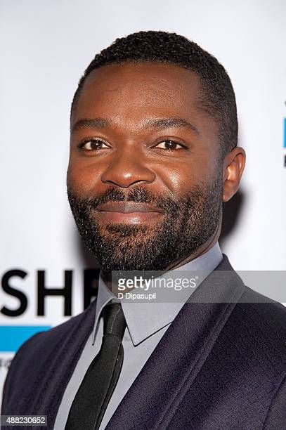 David Oyelowo attends the 'Captive' New York premiere at Sheen Center on September 14 2015 in New York City